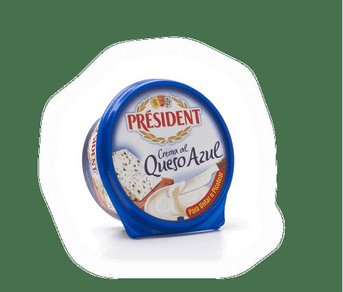 Crema queso azul President 125g