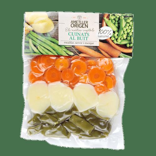 Patata, Judia y zanahoria Ametller Origen 250g