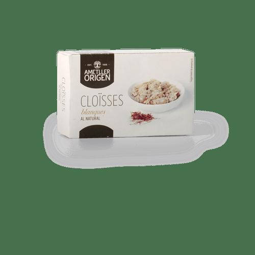 Almejas blancas al natural Ametller Origen 63g
