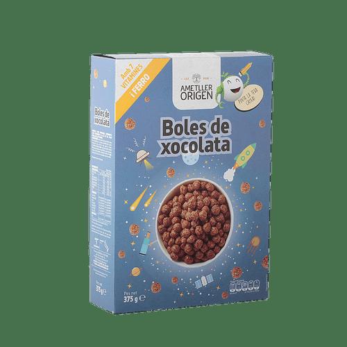 Boles de xocolata Ametller Origen 375g