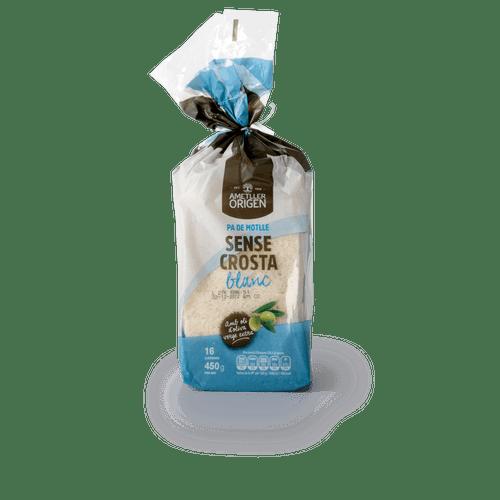 Pan de molde sin corteza Ametller Origen 450g