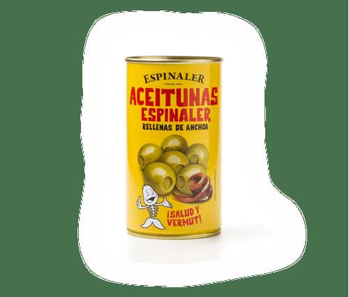 Aceitunas anchoa Espinaler 350g