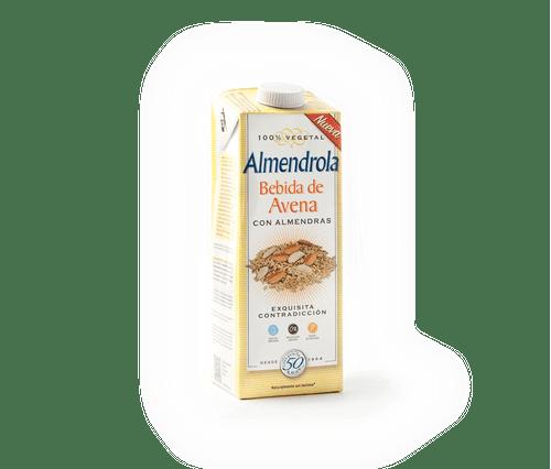 Bebida avena y almendra Almendrola 1l