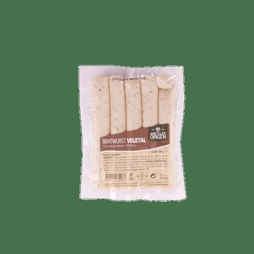 Bratwurst vegetal Ametller Origen 200g