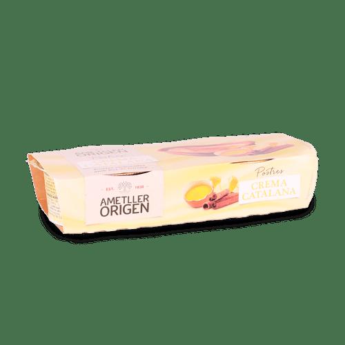 Crema Catalana AO 2x125gr Ametller Origen 125g