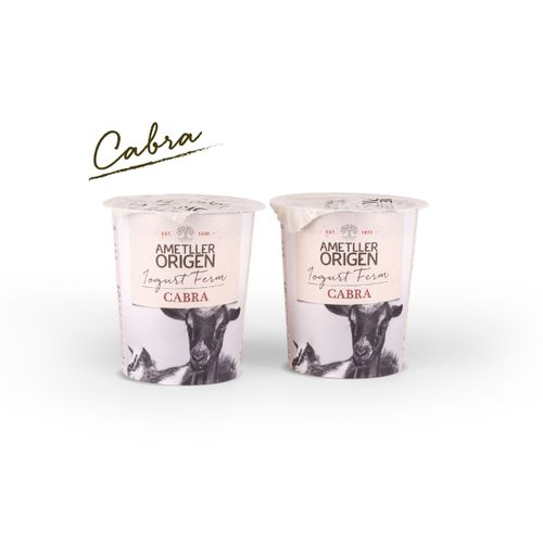 Yogur de cabra Ametller Origen 125g 2u