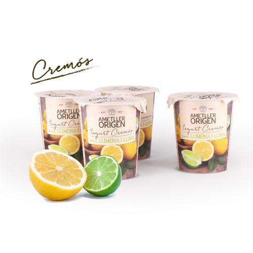 Yogur cremoso limón Ametller Origen 125g