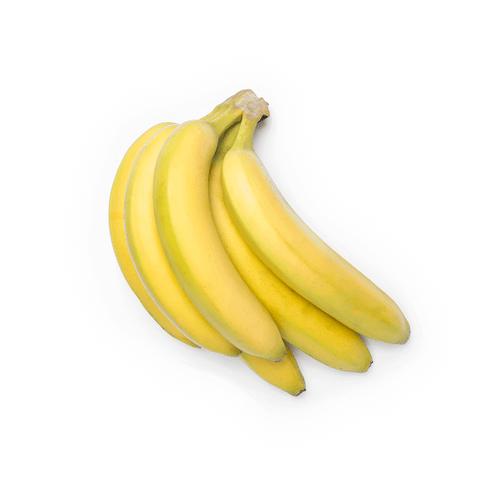 Racimo de bananas tropicales