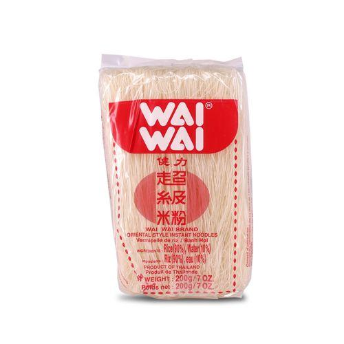 Fideus d'arròs fins Wai Wai 200g