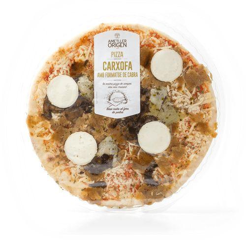 Pizza carxofa formatge cabra Ametller Origen 465g