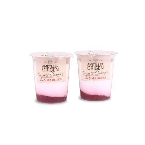 Yogur bicapa fresa Ametller Origen 125g 2u.
