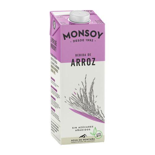Bebida de arroz Monsoy 1l
