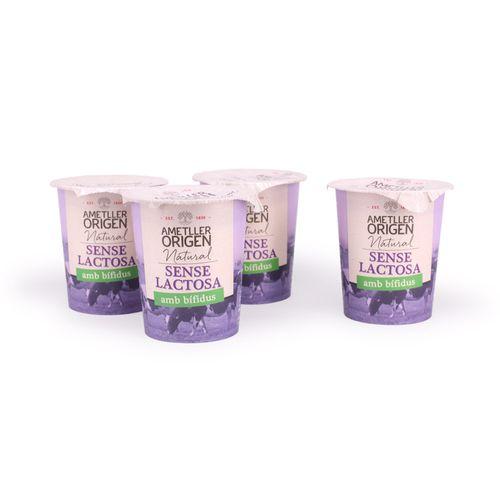 Iogurt Bifidus s/lactosa Natural AO 4x125g