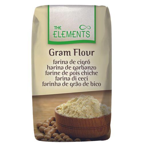 Harina de garbanzo s / gluten THE ELEMENTOS 1kg