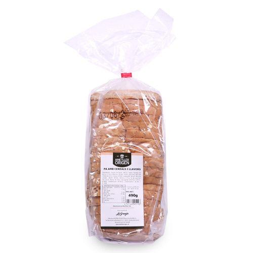 Pan con cereales y semillas Ametller Origen 490g