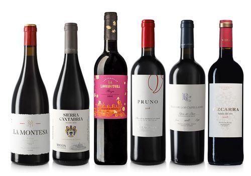 Lot Vi 6u. Selecció Rioja i Ribera del Duero
