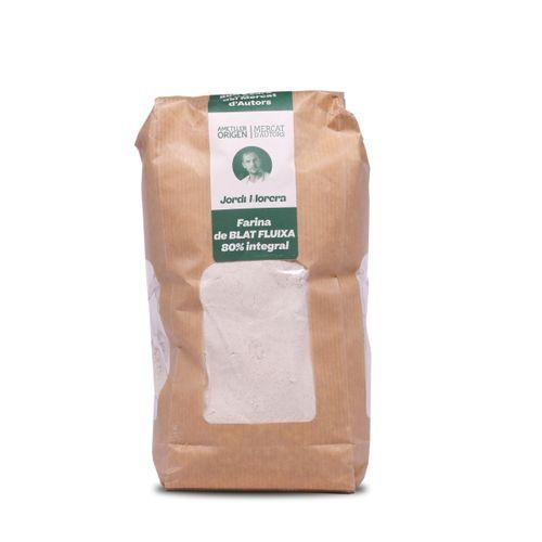 Farina Blat 80% integral fluixa 1kg ECO