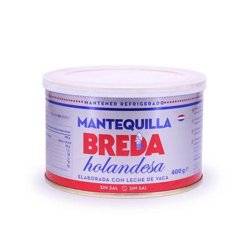 Mantequilla sin sal BREDA 400g