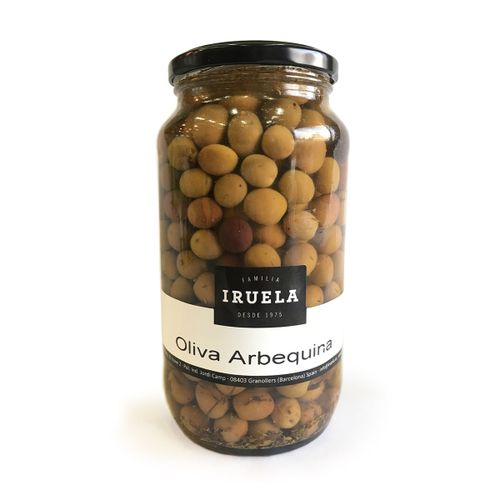 Oliva arbequina IRUELA 600g