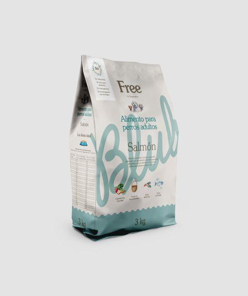 Free Pinso Nat Salmó adult 3kg