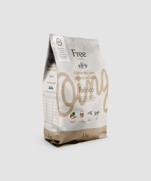Free Pinso Nat. Ibèric adult 3kg