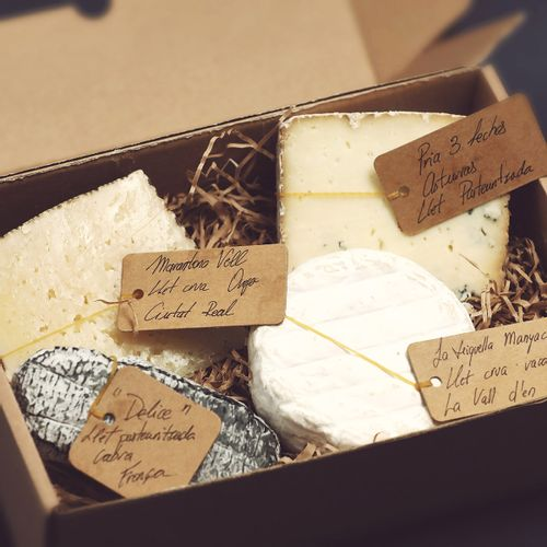 Safata de formatges petita