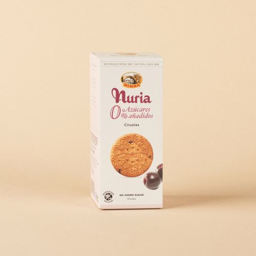 Galetes Nuria 0% sucres afegits Birba 135g
