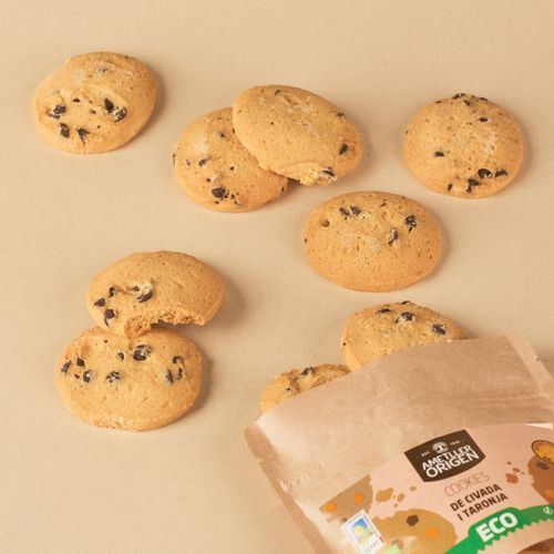 Cookies avena y espelta naranja AO 130g