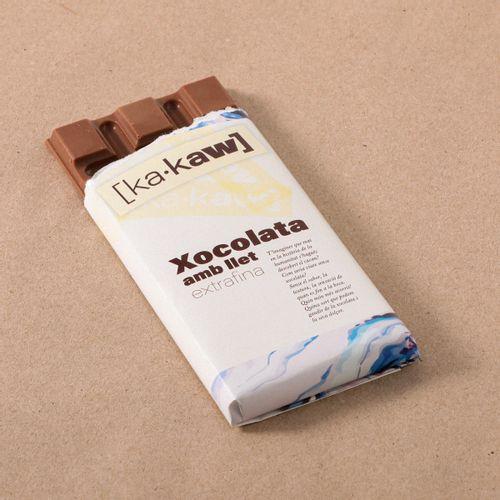 Xocolata amb llet KA-KAW 85g
