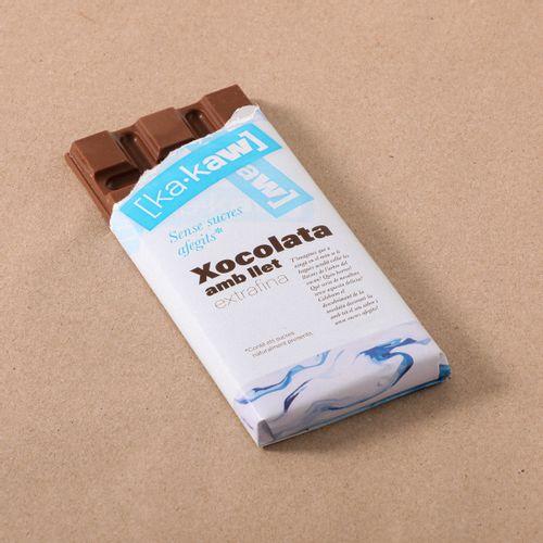 Xocolata amb llet s/sucre KA-KAW 85g