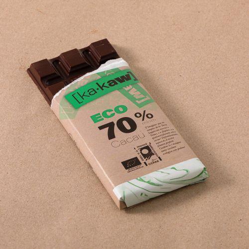 Chocolate ECO 70% KA-KAW 85g